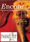 Encore Music Notation Software